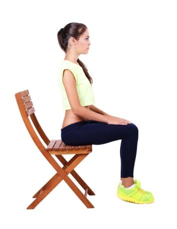 posture assise dos droit cour d'essai sophrologie
